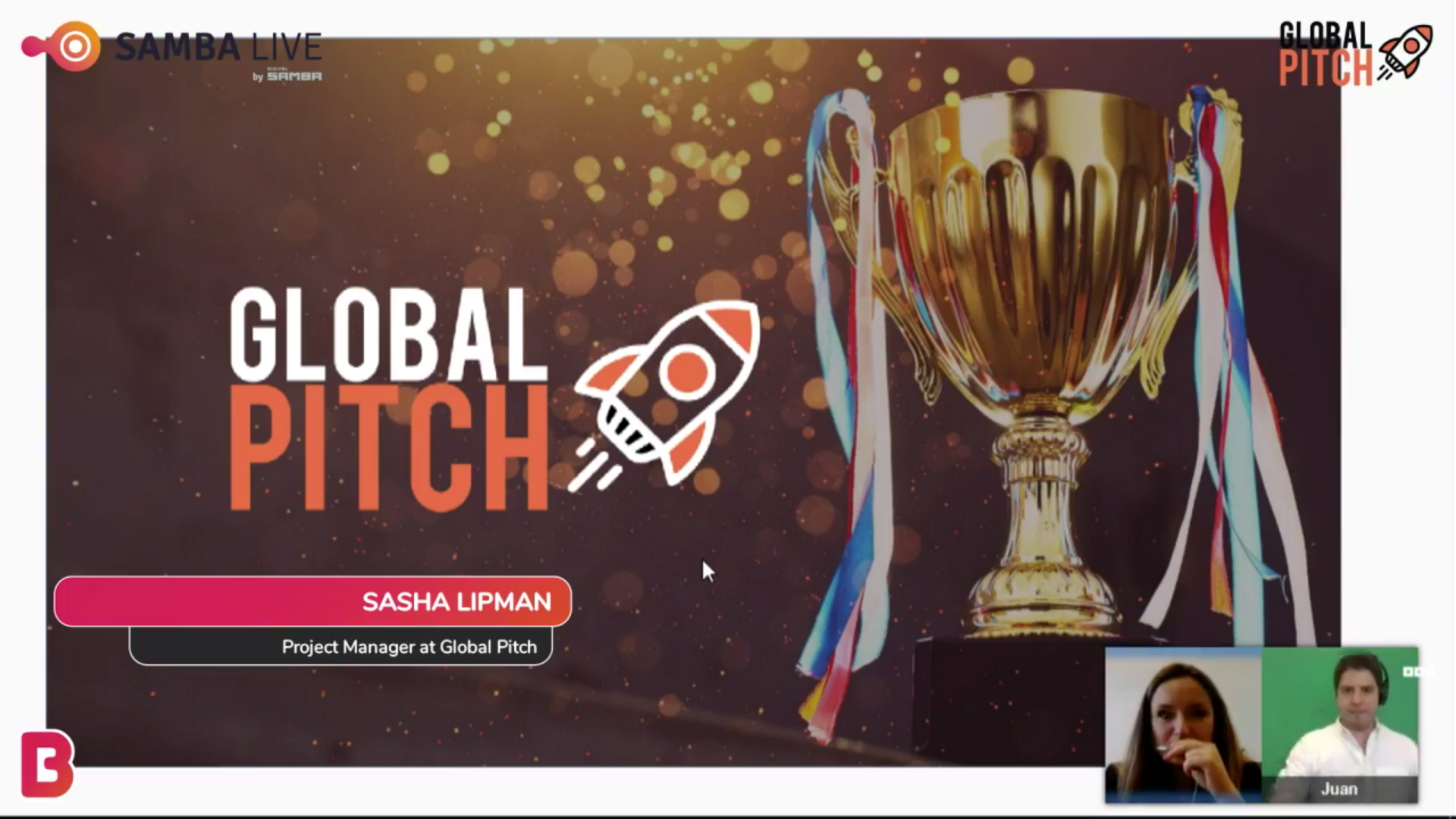 Global Pitch First Edition Live Stream